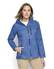 Even a drenching downpour won't seep through The Hatch Rain Jacket's 2.5-layer construction.