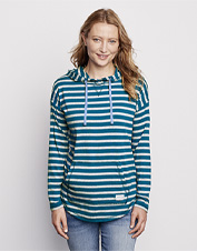 An indulgent cotton-blend jersey pairs with a relaxed silhouette in our women's Perfect Hoodie.