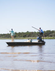Choose Living Water Guide Service for fly and light tackle spin fishing expertise.