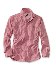 Enjoy quick-dry comfort on the water in our Western-style Fall River technical fishing shirt.