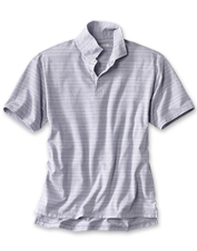 Our Super Cool Stretch Polo wicks moisture and keeps you plenty comfortable in summer's heat.