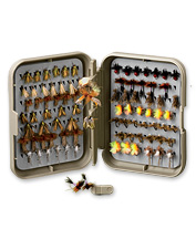 This versatile fly box keeps you well prepared for any fly-fishing situation.