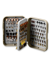 Leave no fly behind with this large fly box.