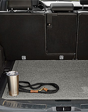 This SUV cargo protector offers all the smart features of a Water Trapper® polypropylene mat.