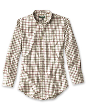 Classic dress plaids meet soft, brushed cotton in our Country Twill Long-Sleeved Shirts.