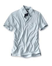 Tackle adventures in unbeatable comfort wearing the quick-drying Orvis Performance Polo shirt.