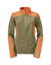 By popular demand, this women's upland softshell jacket offers performance with a sleek fit.