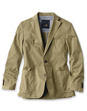 This men's stretch blazer possesses every detail to make it perfect for travel.