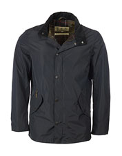 Enjoy comfort on chilly, rainy days wearing the waterproof Spoonbill Jacket from Barbour.