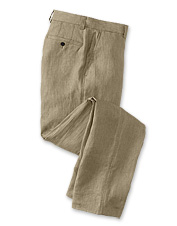 Dressed up or down, pure linen dress pants offer a prime seasonal option for everyday polish.