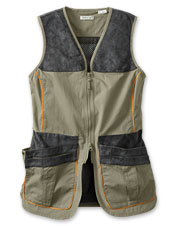Tested for excellence, our women's clays shooting vest offers pockets galore and a comfy fit.