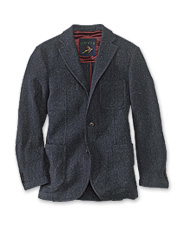 The Highland Tweed Casual Jacket is a lighter, less formal version of an Orvis classic.