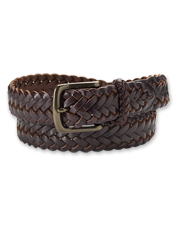 This Classic Latigo Leather Braid Belt can handle more than your average wear and tear.