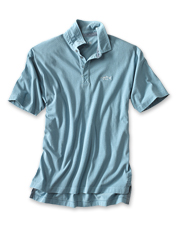 These supremely soft polo shirts showcase embroidered saltwater fish in six common species.
