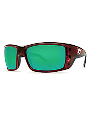 Fog-free lenses and UV protection are part of the package with the Permit Sunglasses by Costa.