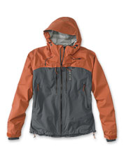 Waterproof and windproof without the bulk, our Ultralight Wading Jacket goes where you do.