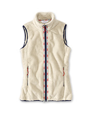 Add a cozy, windproof layer for wintertime adventures outdoors with our Big Sky Fleece Vest.