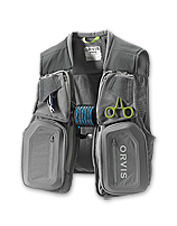 The Orvis PRO Vest is engineered for anglers' every fly-fishing need—with utility to spare.
