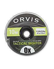 Enjoy better visibility for the softest takes with multicolor fly-fishing indicator tippet.