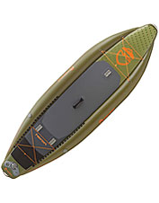 This stand-up paddleboard pairs inflatable convenience with stability and stealth.