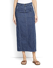 A seasons-spanning casual piece doesn't get much simpler than our Easy Denim Maxi Skirt.