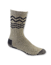Enjoy exceptional warmth in these Ultimate American Bison Socks, in an indulgent wool blend.