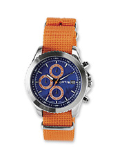 Superior performance meets eye-catching style in our Adventure Chronograph watch.