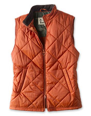 The Barbour Finn quilted gilet layers nicely for extra warmth when colder weather settles in.