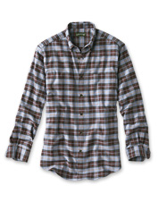 Premium Portuguese fabric gives our luxury plaid flannel shirt its exceptional softness.