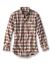 With softness brushed in, this Lodge Flannel Long-Sleeved Shirt will become a true favorite.