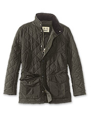 0fde82ae82a It s all in the details  the Barbour® Devon quilted jacket imparts refined  charm to