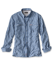 Everything you love about the Orvis Open Air Caster in a moisture-wicking plaid tech fabric.