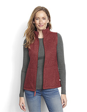 Our Hybrid Wool Fleece Vest is a go-anywhere extra layer that battles moisture and a chill.
