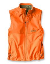 This moisture-wicking softshell vest is a practical layer for any upland hunting adventure.