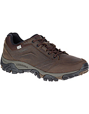 Lace up for comfort wearing the rugged, hardworking Merrell Moab Adventure Waterproof shoe.