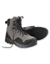 We've added impressive new features to our updated men's Clearwater rubber sole wading boots.