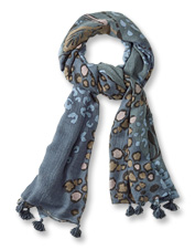 The tapestry motif on our Large Square Print Scarf offers a playful—yet polished—edge.