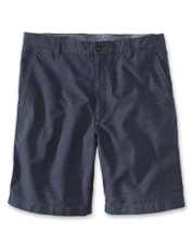 Our handsome Navy Pin Dot Shorts are a subtly-patterned twist on a classic look.