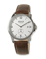 The Dorset Watch is a handsome, water-resistant, leather-banded timepiece made to be used.