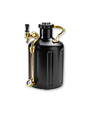 Perfectly cooled, fresh craft beer is at your fingertips with the personal uKeg Growler.
