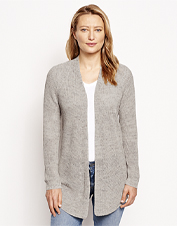 A warming trend calls for the lightweight coverage of our Everyday Linen-Blend Cardigan.
