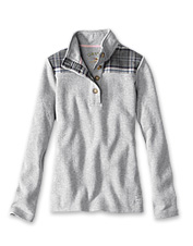 Quarter-button styling and our Signature Softest feel will make this sweatshirt your go-to.