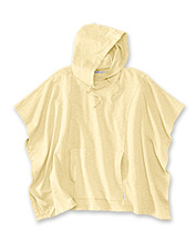 Our comfortable Sunwashed Poncho Sweatshirt is as easy as a relaxing day at the beach.