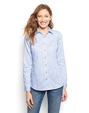 Our wrinkle-free Clearwater casting shirt brings a better fit to a favorite style.