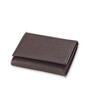 The durable leather in this American Bison Tri-Fold wallet gets only better with age.