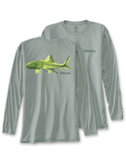 At home or on the water, our Bonefish Bones Tech T-Shirt is a comfortable, quick-drying pick.