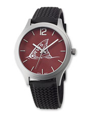 Your favorite saltwater fish species is attractively portrayed on the face of this novel watch.