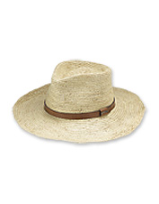 This Stowaway Packable Panama Hat is ready to live the beach life whenever you are.