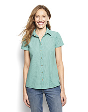 Our Women's Open Air casting shirt performs like his but is made for you alone.