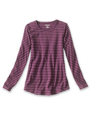 A flattering fit and silky feel will make our Striped Relaxed Perfect Tee your new favorite.